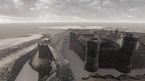 IL Y A 2 ANS..Cherbourg fait revivre son château avec une application mobile en réalité augmentée | L'actu culturelle | Scoop.it