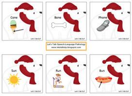 Materials Monday - Polar Bear Rhyming | Speech-Language Pathology | Scoop.it
