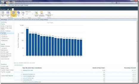 Web Analytics in SharePoint 2010: Insights into Reports and Metrics - Microsoft Enterprise Content Management (ECM) Team Blog - Site Home - MSDN Blogs | SharePoint 2010 Analytics | Scoop.it
