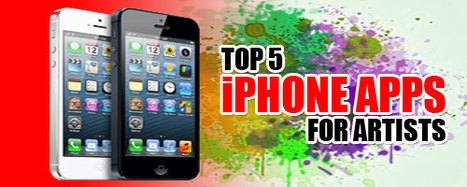Top 5 iPhone Apps for Artists | Internet marketing, SEO, SMO, PPC, Wordpress | Scoop.it