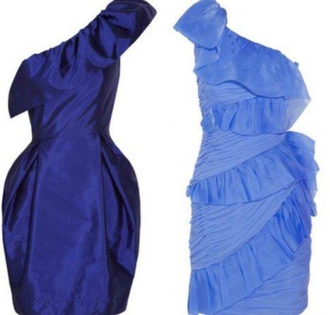 Moda de fiesta Navidad 2011: 20 vestidos asimétricos, ¡rompiendo ... | different | Scoop.it