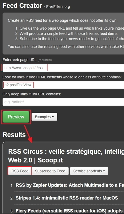 Créer un flux RSS pour une page Scoop.it | Time to Learn | Scoop.it
