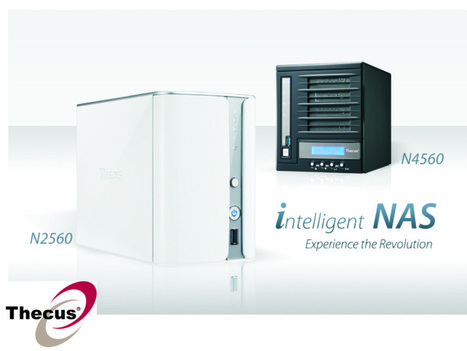 Thecus® presenta le nuove versioni dei NAS N2560 a 2 bay e N4560 a 4 bay | ICT | Scoop.it