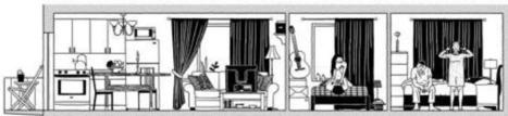 Architecture. Divorce, chômage, vieillesse… Et si l'habitation de demain s'adaptait au mode de vie d'aujourd'hui ? | D'Dline 2020, vecteur du bâtiment durable | Scoop.it