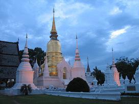 Temples In Thailand: Wat Suan Dok   Thailand Tourist Destination   Scoop.it