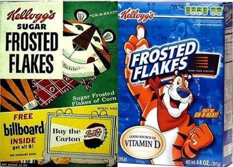 The Evolution of American Cereal Box Design   8th Grade STEM   Scoop.it