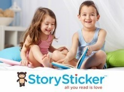 "StorySticker Lets You Create Personalized Readings For Children's Books - AppNewser | Buffy Hamilton's Unquiet Commonplace ""Book"" 