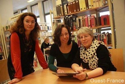 A la BU, les étudiants empruntent des tablettes - Caen.maville.com | Outils et  innovations pour mieux trouver, gérer et diffuser l'information | Scoop.it