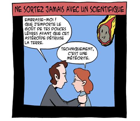 Les Céréales du Dimanche Matin : ne sortez pas avec des scientifiques | AMCSTI 2012 | Scoop.it