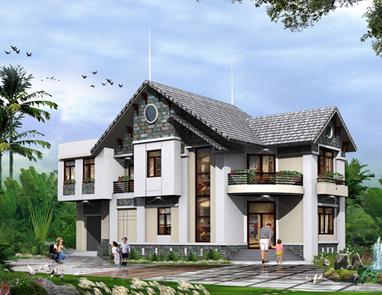 Thiết kế nhà kiến trúc phong thủy mới - Kiến Trúc Mới | Bep ga, bep hong ngoai, bep gas am, bep tu, may hut mui | Scoop.it