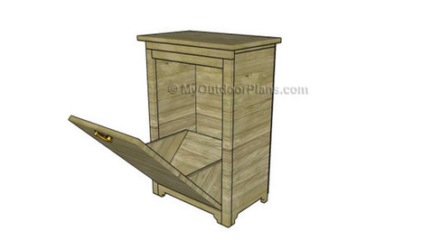 Trash Cabinet Plans | Free Outdoor Plans - DIY Shed, Wooden Playhouse, Bbq, Woodworking Projects | Garden Plans | Scoop.it