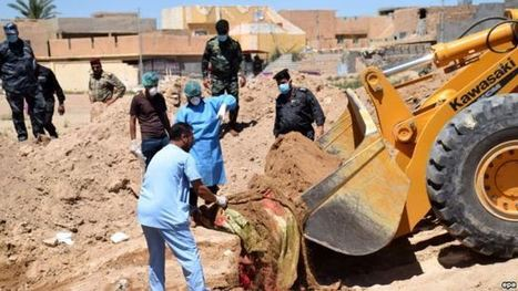 Mass Graves Found In Iraq In IS Areas | The Pulp Ark Gazette | Scoop.it