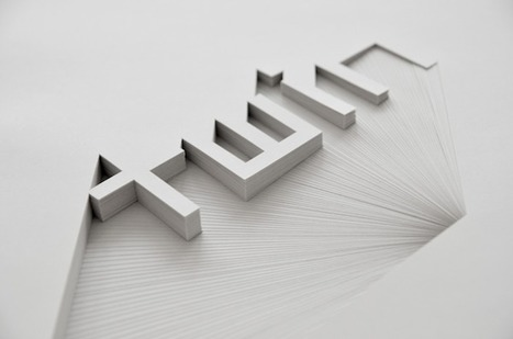 Minimalistic Typography Artworks By Bianca Chang | Interesting Photography | Scoop.it