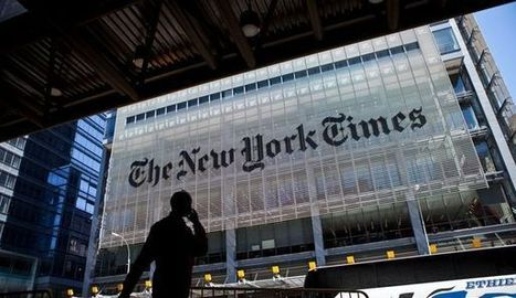 New York Times: hausse des recettes publicitaires pour le papier et le numérique | DocPresseESJ | Scoop.it