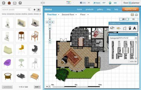 Floorplanner, utilidad web gratuita para diseñar tus propios planos   EDUDIARI 2.0 DE jluisbloc   Scoop.it