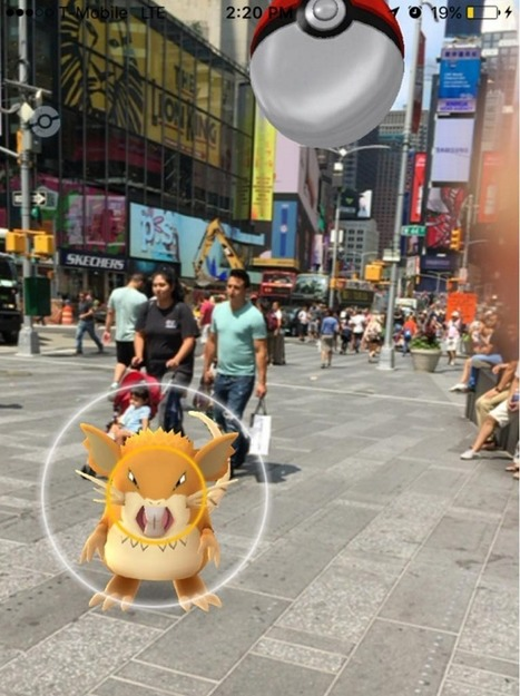 21st Century Nolli: How Pokemon GO and AUGMENTED Reality Could Shape Our Cities | URBANmedias | Scoop.it