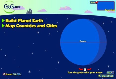 GeoGames | K-12 Web Resources - History & Social Studies | Scoop.it