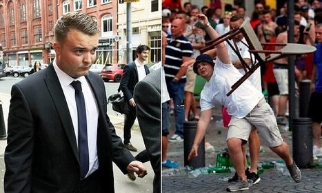 Five-year football ban for England hooligan caught on camera | Policing news | Scoop.it