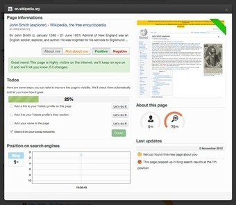 Yatedo - Essayez notre application de gestion de réputation   Time to Learn   Scoop.it