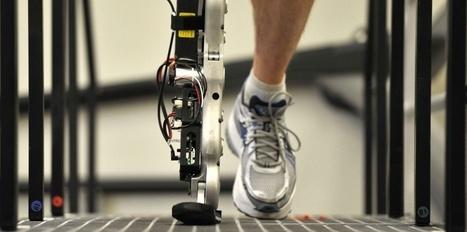 Une jambe bionique commandée par la pensée | La fabrique du futur : des robots et des hommes | Scoop.it