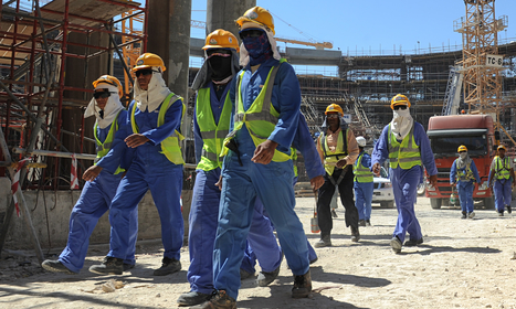 Qatar government admits almost 1,000 fatalities among migrant workers | Teachers Toolbox | Scoop.it