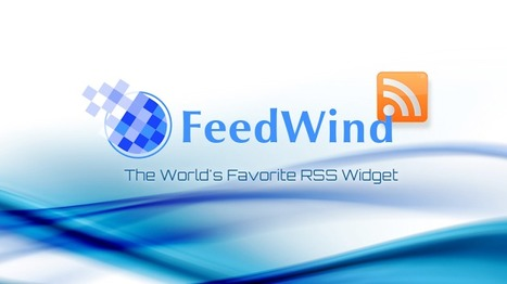 The FeedWind RSS Widget Now Installed on 100,000+ Domains | Work From Home | Scoop.it