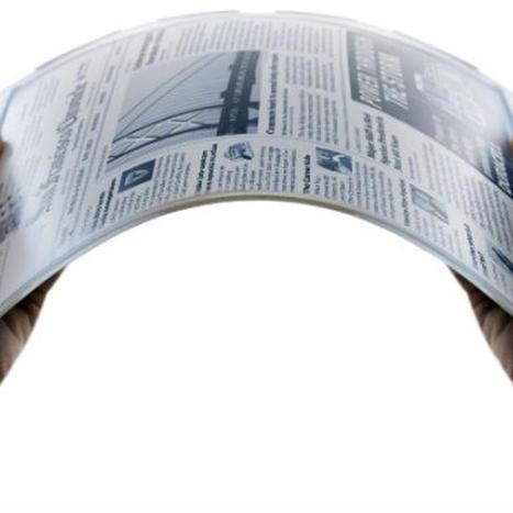 Flexible Battery Could Lead to Gadgets That Fold Up [VIDEO] | Flexible screen | Scoop.it
