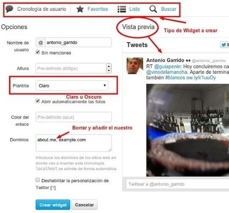 Nuevos widgets de twitter vía @enlanubetic | Pedalogica: educación y TIC | Scoop.it