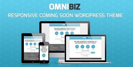 OmniBiz - Under Construction Wordpress Template - idesignresources.com | Tips, Inspiration, Web Design and Tech Resources | Scoop.it