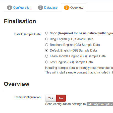 Balbooa - After installation of the Joomla quickstart the website is not like on the demo. | we are launching | Scoop.it