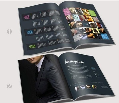 Business Brochure Designs | Web & Graphic Design - Inspirational resources and tips!!! | Scoop.it