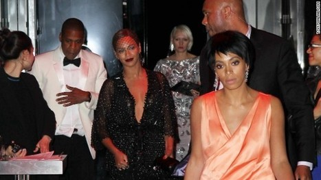 Solange, Jay Z and Beyonce break their silence on hotel elevator incident | Jay-Z and Solange Elevator Fight | Scoop.it