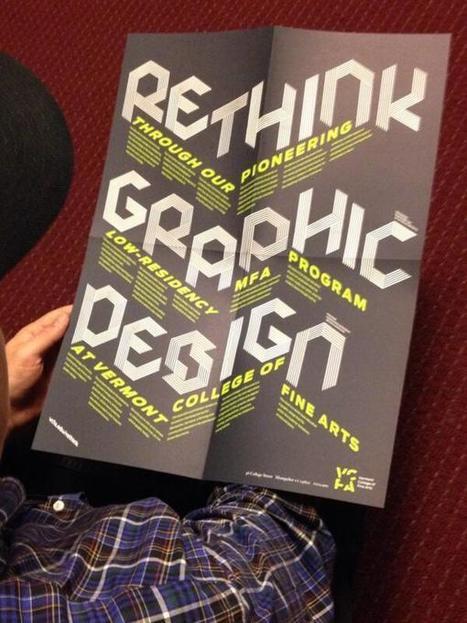 Twitter / nikkijuen: Rethink an MFA in graphic design ... | Design Ideas | Scoop.it