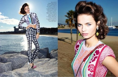 Moa Aberg is 80′s Chic for Vogue Spain March 2013 | TAFT: Trends And Fashion Timeline | Scoop.it