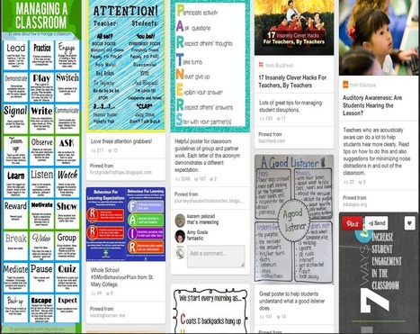 Good Classroom Management Posters and Visuals for Your Class | Technology integration in schools | Scoop.it