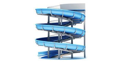 Toboggan aquatique 3D | 3D Library | Scoop.it
