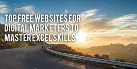 Top Free Websites for Digital Marketers to Master Excel Skills | Siteber | SEO | Scoop.it