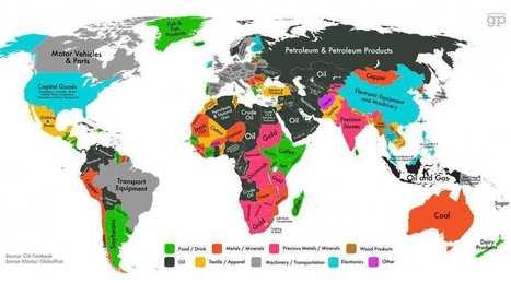 Soja, pétrole ou opium: la carte mondiale des produits qui rapportent le plus à l'export   Epic pics   Scoop.it