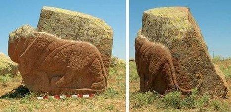 Deux sculptures de lions grandeur nature découvertes en Turquie | Les découvertes archéologiques | Net-plus-ultra | Scoop.it