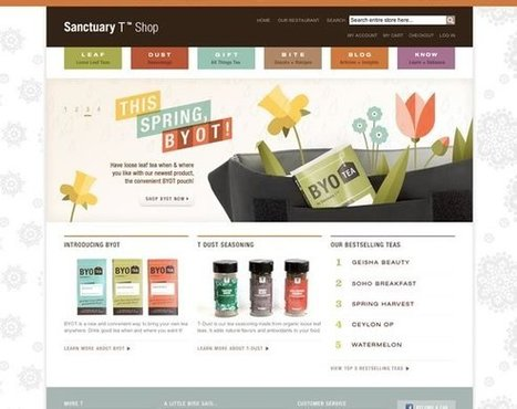 21 Colorful Web Designs to Inspire You | Inspiration | Teaching Website Design | Scoop.it