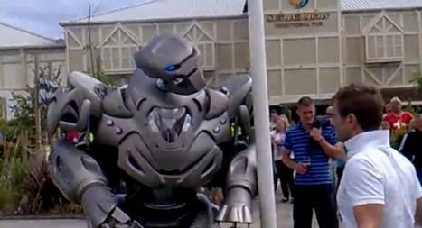 Insolite : le robot Titan donne un coup de poing à un homme saoul | veille technologique sur la robotique | Scoop.it