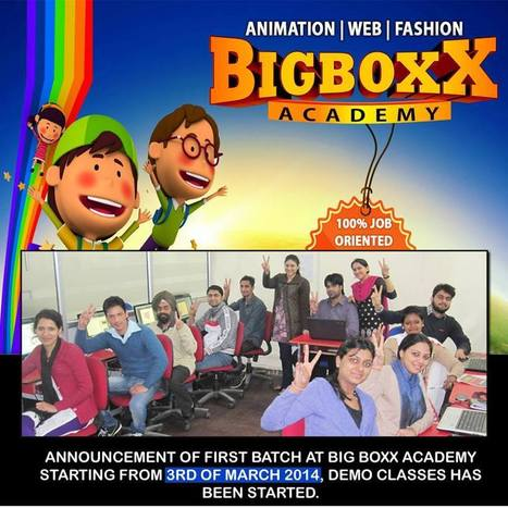 Announcement Of First Batch of Web Designing at BigBoxx starting March 2014 | Professional 3d Animation courses in Chandigarh | Big Boxx | Scoop.it