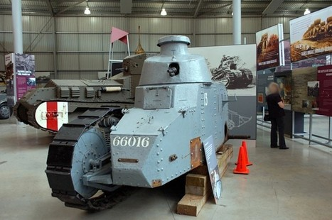 Renault FT 17 – WalkAround | History Around the Net | Scoop.it