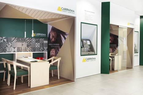 """""""My House Bank"""" branch concept of Cariparma Crédit Agricole 