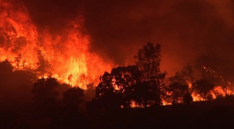 REPORT: California's Record Fire Season Drives Climate Change Into The News | Climate change and the media | Scoop.it