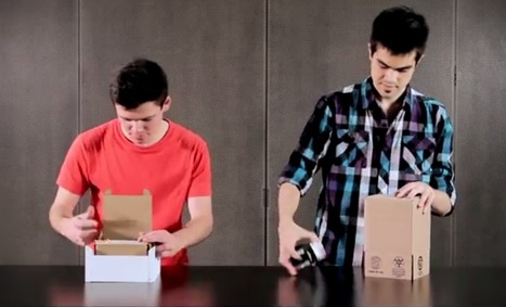 These guys just revolutionized the humble cardboard box | Sustainability Science | Scoop.it