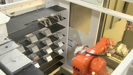 VBX-160 Milling Parts on a Hass DT-1 - YouTube | Robotics in Manufacturing Today | Scoop.it