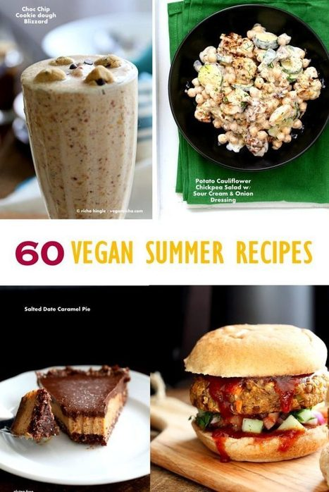 60 Vegan Summer Recipes for Barbecue, Grilling, Potlucks - Vegan Richa | Smoothie | Scoop.it