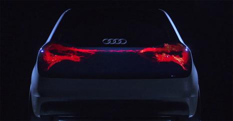 Audi Swarm, el concepto que cambia los focos traseros por una pantalla OLED | La tecnología del automóvil | Scoop.it