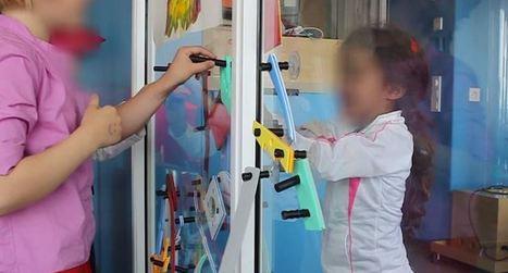 Une paroi spéciale permet aux enfants malades isolés de jouer ...   Clowns à l'hôpital   Scoop.it
